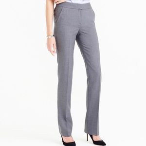 J Crew Super 120s 100% wool pants, grey